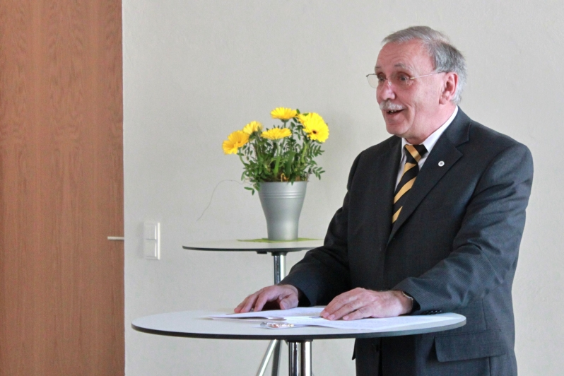 Sportkreisvorsitzender des Sportbundes Pfalz Alois Herrmann