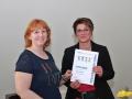 Ehrung Sabine Mölter für 15 Jahre Vorstandsarbeit
