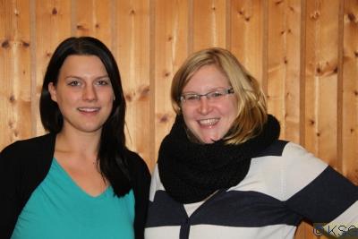 Sandra und Katharina